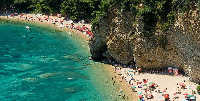 The best beaches in Budva, Montenegro - Destinelo