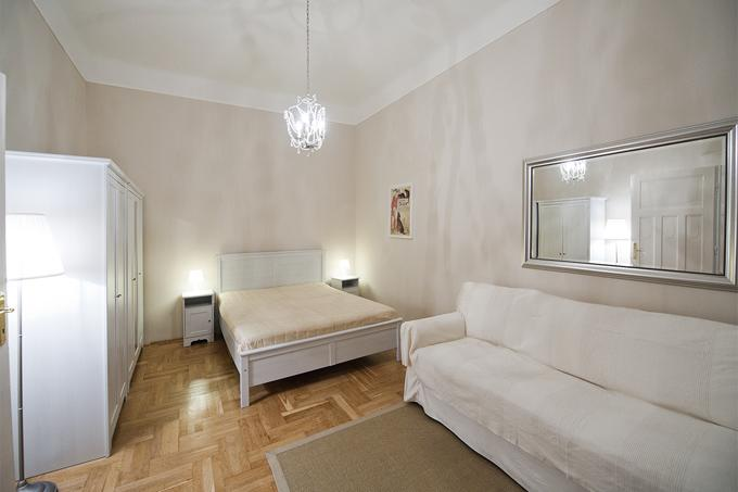 University Studio Apartment Budapest - living room