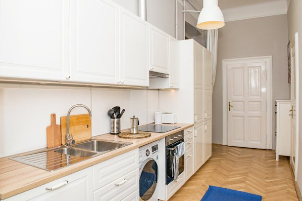 West End City Center Apartment Budapest - kitchen