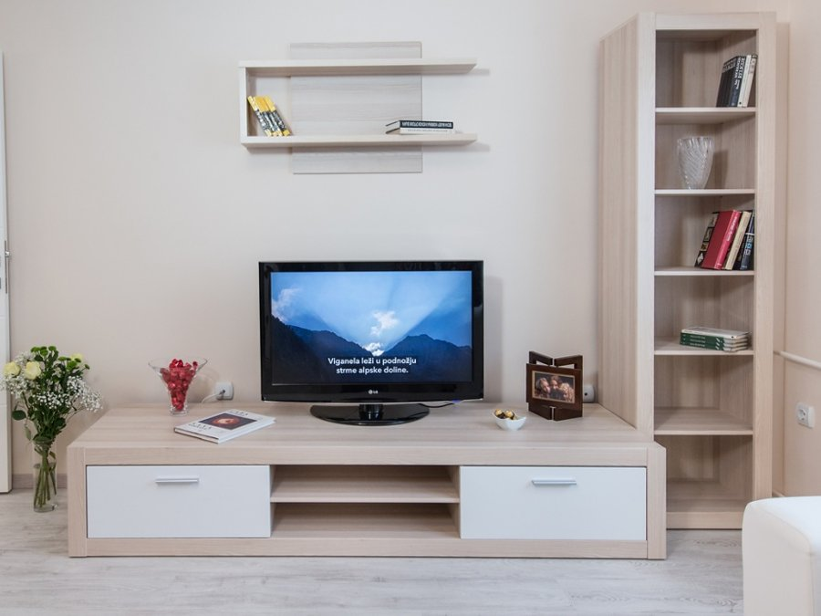 Belgrade Theater Apartment - flat screen tv