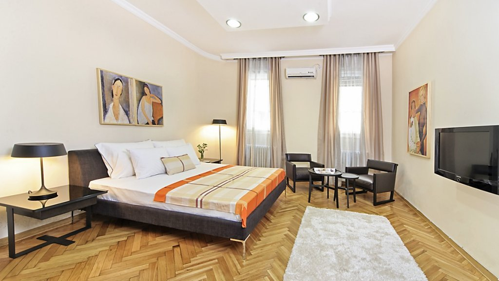 City center apartment Belgrade - 2 bedrooms with 2 double beds