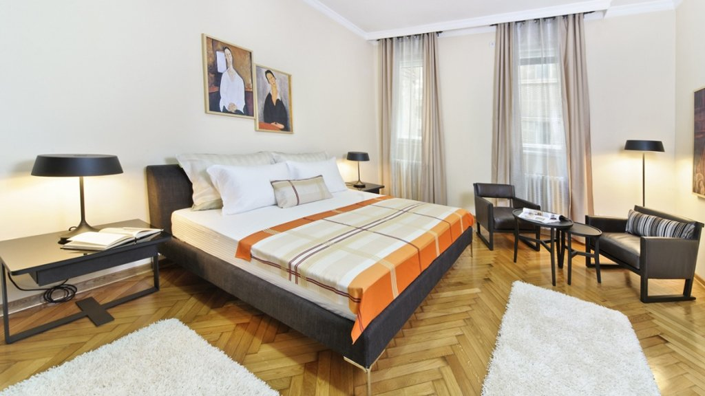 City center apartment Belgrade - bedroom