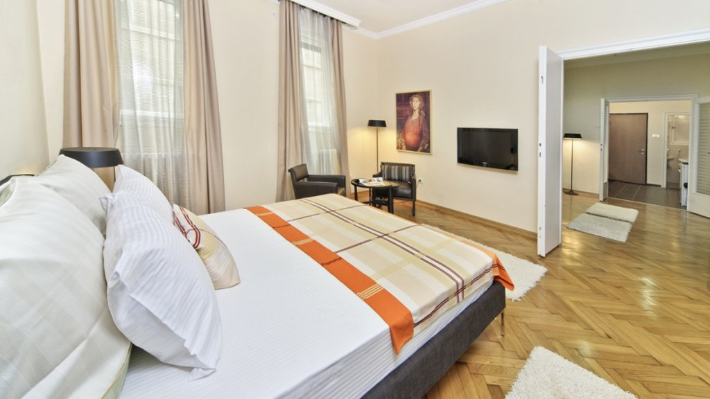 City center apartment Belgrade - double bed