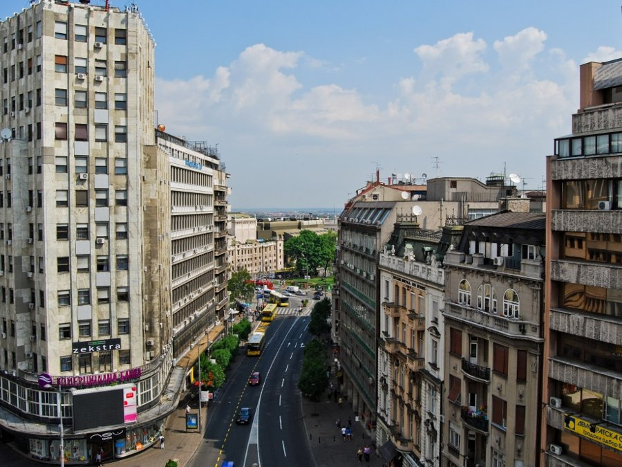 Apartment Belgrade Center View