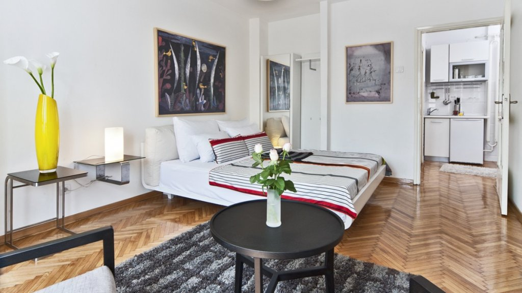 Belgrade Fortress Apartment bedroom - rent on Destinelo