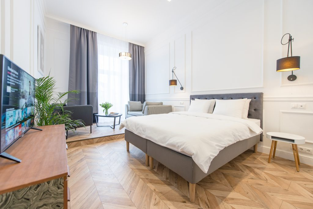 Luxury Parisian Studio City Center Budapest