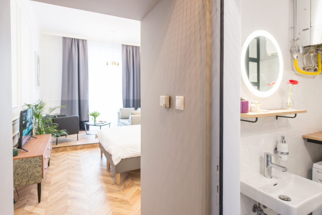 Luxury Parisian Studio City Center Apartment in Budapest