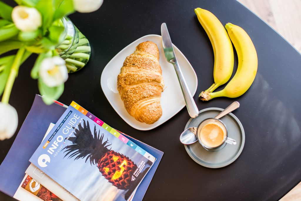 Luxury Parisian Studio City Center Budapest - breakfast