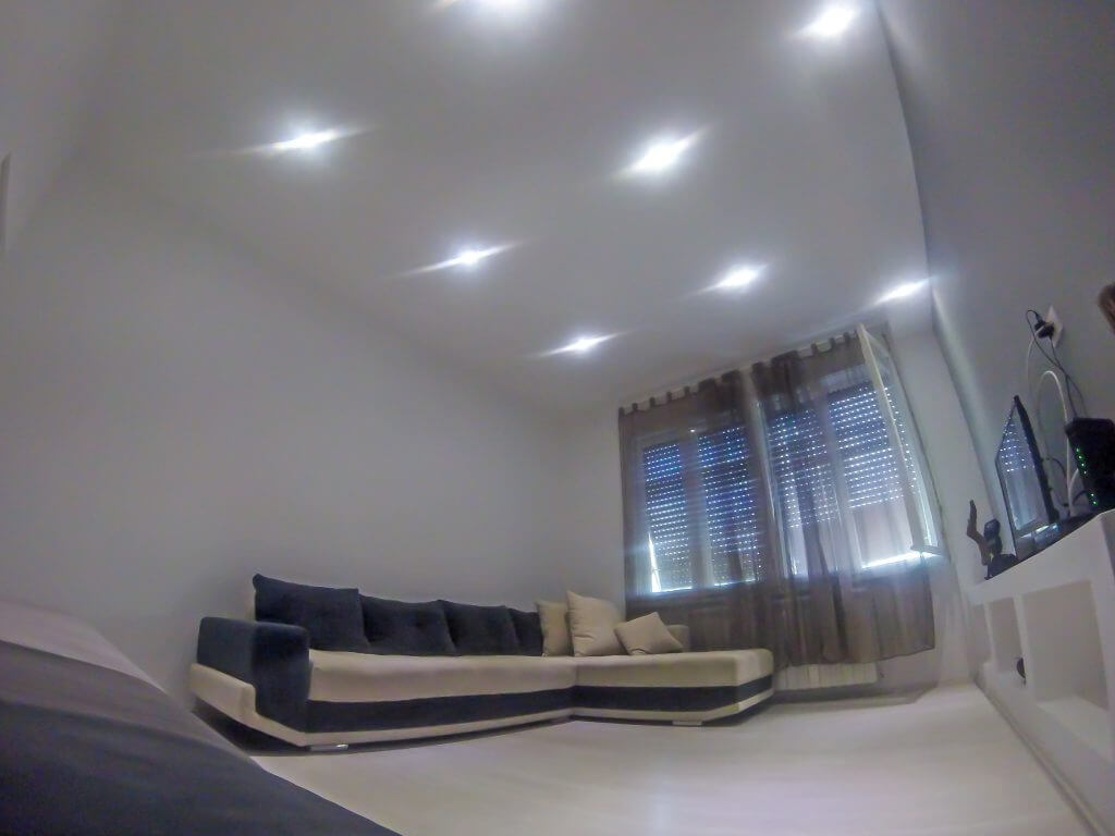 White harmony apartment in Belgrade