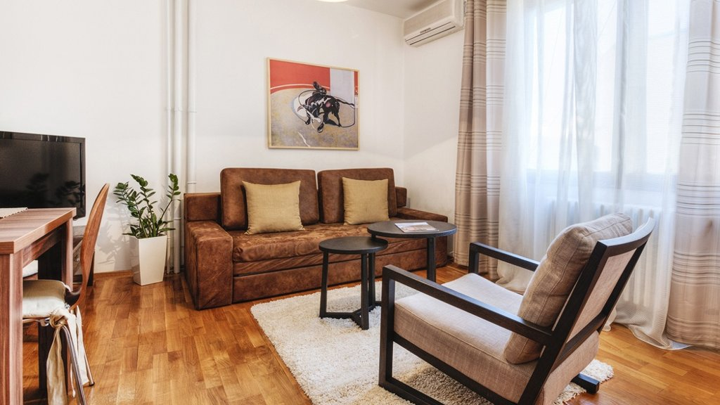 National Theatre Apartment Belgrade - nappali