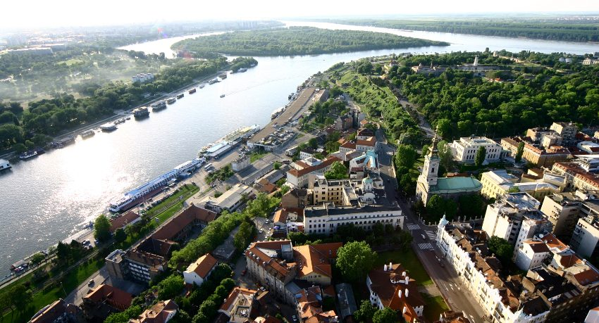 Belgrade Rivers - A City Where Two Mighty Rivers Meet