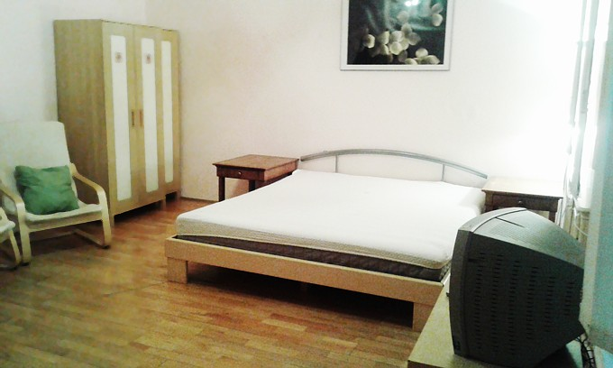Budapest Parliament Square Apartment - 1 double bed in room