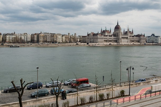Danube Panorama Apartment Budapest - window view