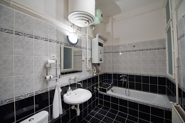 University Apartment Budapest - bathroom