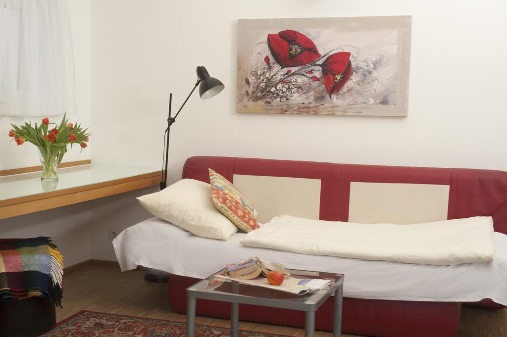 One-Bedroom Ferchergasse Apartment with Terrace - single bed