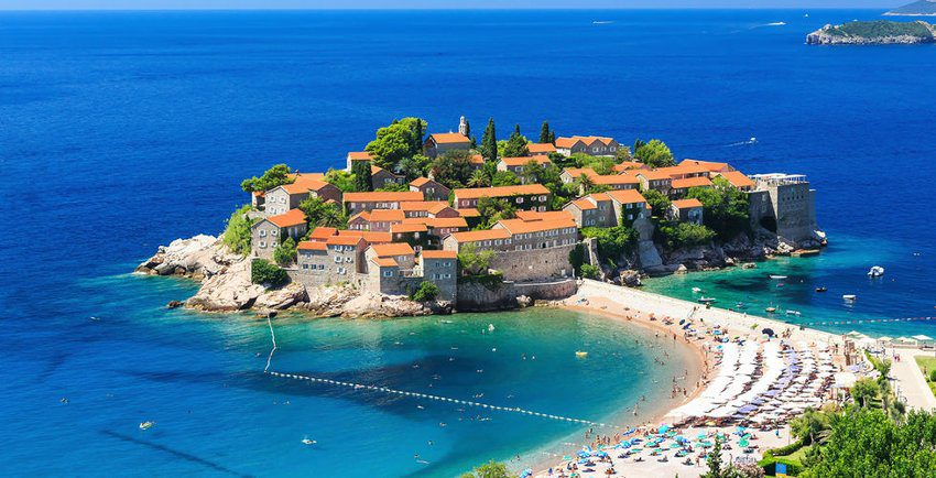 Best beaches - Budva, Montenegro